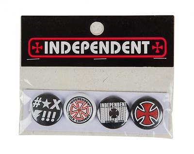 INDEPENDENT SKATEBOARD TRUCK CO' Badge / Pin - Pack of 4 badges