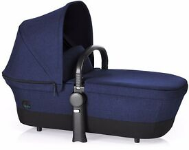 Unopened in box: brand new Cybex Priam Carrycot in Royal Blue
