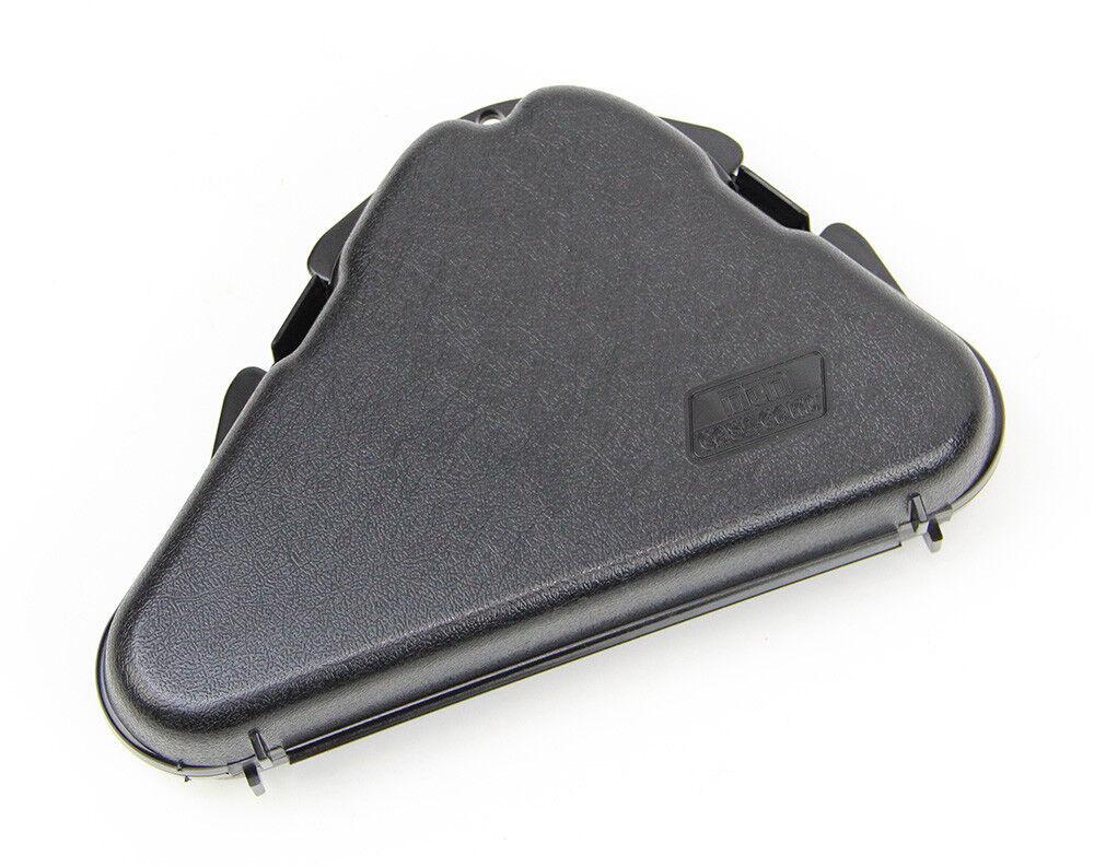 MTM Pistol Revolver  Handgun Plastic 9.5in Hard Case Black,