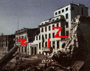 Berlin, destroyed building of Neue Reichskanzlei. August 1945 - <span itemprop='availableAtOrFrom'>Gdansk, Polska</span> - Berlin, destroyed building of Neue Reichskanzlei. August 1945 - Gdansk, Polska