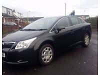 2010 Toyota Avensis 2.0 D4D T2 turbo diesel saloon hpi clear Mot Jan 19 can deliver drives A1