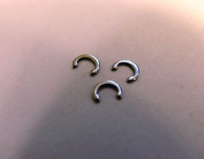 6 Stainless Steel C-Retainer (C-clip) for the Ejection Port Hinge Pin ](Hinge Clips)