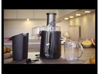 850W Dihl whole fruit centrifugal juicer.