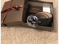 Gucci belt brand new with packaging guaranteed delivery before Christmas