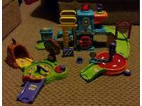 Toot Toot Police Station & Animal play sets