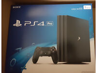 PS4 Pro 1TB Brand New Boxed get it for £175 when you part ex with your normal PS4