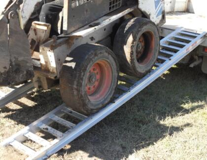 3.5 Tonne Bobcat Loading Ramps 3.6 metres x 350mm track