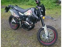 125cc Urbancross motorbike