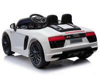 Licensed Audi R8 Spyder 12V Children's Electric Ride On Car new