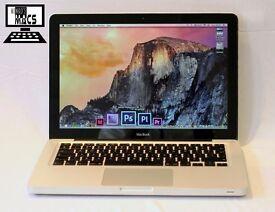 " 2Ghz 13"" Apple Aluminum MacBook 4gb 256GB SSD Logic Pro X Cubase FL Studio Ableton Pro Tools 10 "