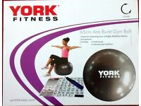 York Fitness Gym Ball *Used Once As New* £4