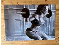 Gym poster - large 1200 x 900 mm