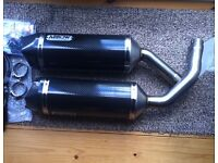 2010 yamaha r1 14b cross plane arrow carbon exhausts
