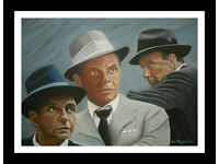 original art clearout. to replenish my art materials.- ole blue eyes. 3 generations -