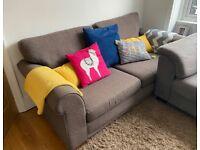 Next grey fabric sofa