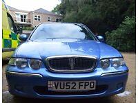 Rover Spirit 14i, Petrol, 72,022 miles w , Very clean Car, Blue, MOT , [6 MONTHS], 26/04/17,£495 ono
