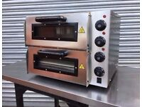 Electric Pizza Oven 16 Double Deck
