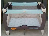 Graco Contore Electra Travel Cot /Playpen