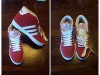 Brand New Red Adidas Trainers