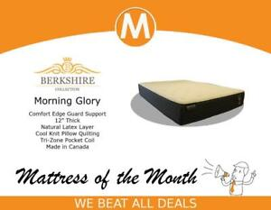 Hello Saint John, Enjoy Our Featured Mattress Of The Month BERKSHIRE MORNING GLORY @ Worldwide Mattress Outlet