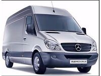 VAN AND MAN AVAILABLE 24/7 AT SHORT NOTICE FOR REMOVALS COLLECTIONS AND DELIVERIES.