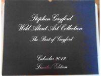 2012 STEPHEN GAYFORD LIMITED EDITION CALENDER