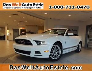 2013 Ford Mustang V6 Premium, Convertible, Cuir, Automatique