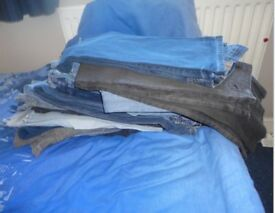 Mens Paul Smith jeans , all in very good condition, 25£ a pair or £150 the lot.34 in waist.