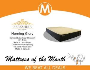 Hello St Catharines, Enjoy Our Featured Mattress Of The Month BERKSHIRE MORNING GLORY @ Worldwide Mattress Outlet
