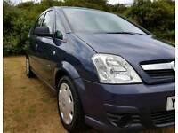 Vauxhall Meriva 1.4 *Only 44k Miles *Long MOT *Part Service History