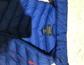 Royal blue, Ralph Lauren puffa gillet