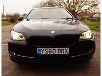 BMW 5 SERIES 2.0 520d SE 2011 4dr +FULL LEATHER+STUNNING+ WARRANTY