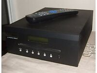 Musical Fidelity M1 CDT transport, boxed, as new with manual.