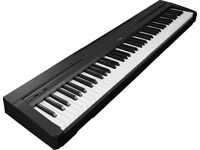 Perfect Yamaha p-35 digital piano and stand