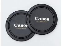 CANON LENS CAPS VARIOUS SIZES
