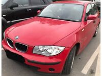 Breaking door seal 2006 BMW 116 I ES 1.6 Red Japanrot 438 N45B16A wing window glass front rear os ns