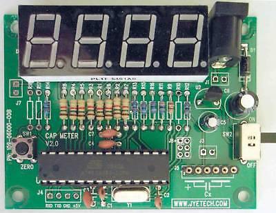 Jyetech 06001 Capacitance Meter Kit Diy Low-cost Avr Evaluation Cap Tool Usa