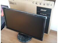 "Acer 21.5"" LED Full HD Monitor"