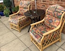 Rattan/Cane Chairs for Garden or Conservatory