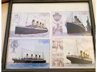 RMS Titanic postcards