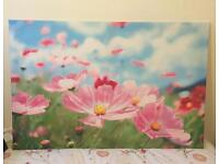 Wall flower picture 118x78
