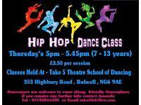 kids Hip hop dance class - Bulwell