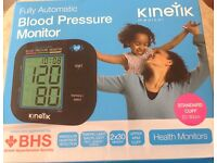 kinetik blood pressure monitor,fully automatic,inflatable upper arm cuff 22/30cm