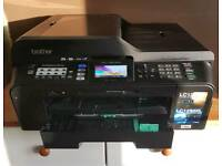 Brother A3/A4 colour printer and scanner with WiFi