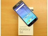 SAMSUNG S6 32 GB BLUE PRISTINE CONDITION
