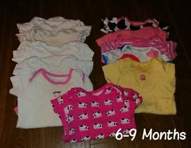 Girls clothes bundle - 6-9 months