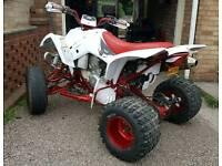 Hyosung/suzuki rapier te450 road legal quad ready to ride