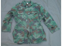 SERBIAN ARMY (Oakleaf) CAMOUFLAGE PARKA with fleece liner