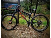 Whyte G-160 RS Full Suspension Mountain Bike