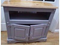 💚solid wood heavy tv storage unit